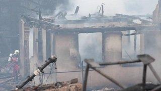 Important incendie à Bauma (ZH)