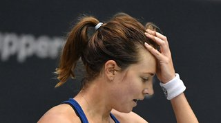 Tennis - Open d'Australie: défaite rageante pour Stefanie Vögele