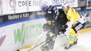 Hockey: Fribourg-Gottéron s'incline contre Berne, Genève-Servette gagne contre St-Gall