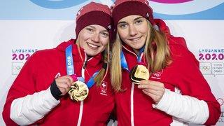 JOJ 2020 de Lausanne: les Suissesses Siri Wigger et Marie Karoline Krista en or