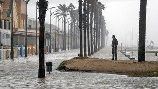 Espagne: lieux de vacances prisés des Suisses dévastés par la tempête Gloria