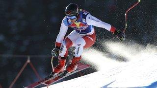 Ski alpin: Feuz et Caviezel dans le top 10 du Super-G de Kitzbühe