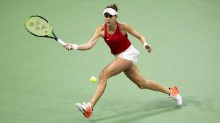 Tennis – Fed Cup: Bencic s'incline face à Fernandez, la Suisse ne mène plus que 2-1