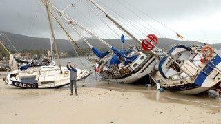Gloria fait au moins six morts en Espagne