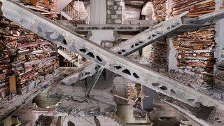 Destroyed House Op Noord 5,