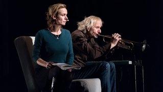 Sandrine Bonnaire et Erik Truffaz, le duo qui soufflera les mots bleus à l'oreille de La Chaux-de-Fonds