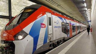 Le Léman Express transporte déjà près de 25'000 personnes par jour