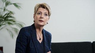 Karin Keller-Sutter: «Nous ne tolérons pas la haine nil'appel à la discrimination»