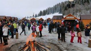 Bain glacé, ski de fond ou balade en poney: la Fête du froid est prête à accueillir ses visiteurs!