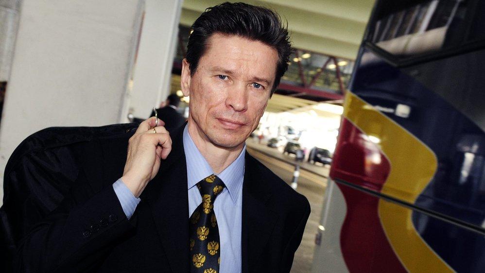 Slava Bykov, ancien joueur et entraîneur de hockey sur glace russe.