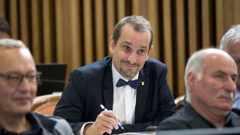 Le PLR Jean-Daniel Jeanneret au Grand Conseil.