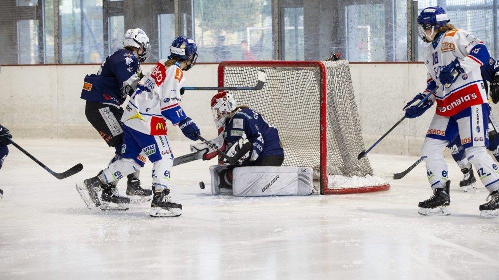 La finale entre la Neuchâtel Hockey Academy et les ZSC Lions s'est arrêtée dimanche dernier aux patinoire du Littoral.