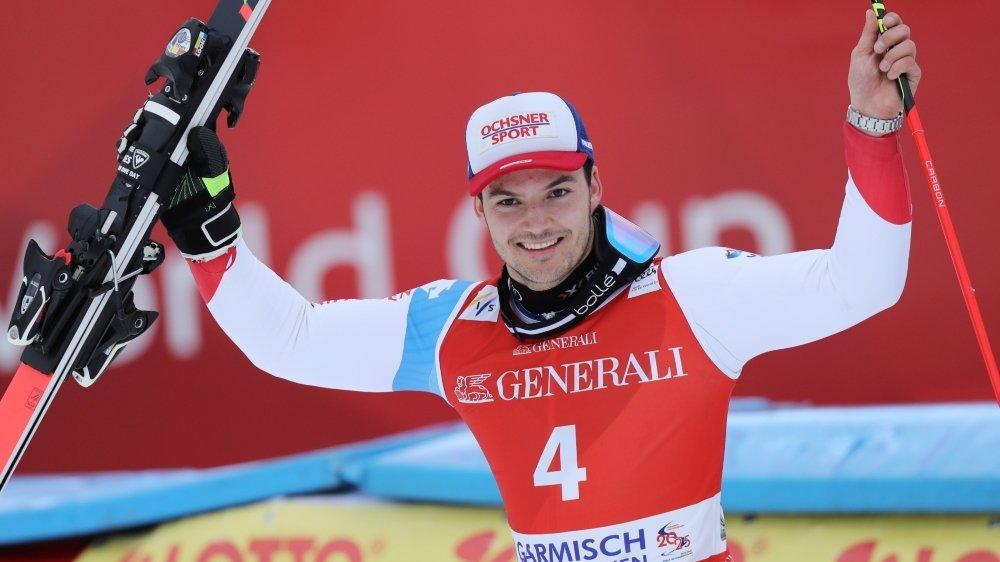 Trois podiums dans trois disciplines cette saison pour le polyvalent Loïc Meillard.