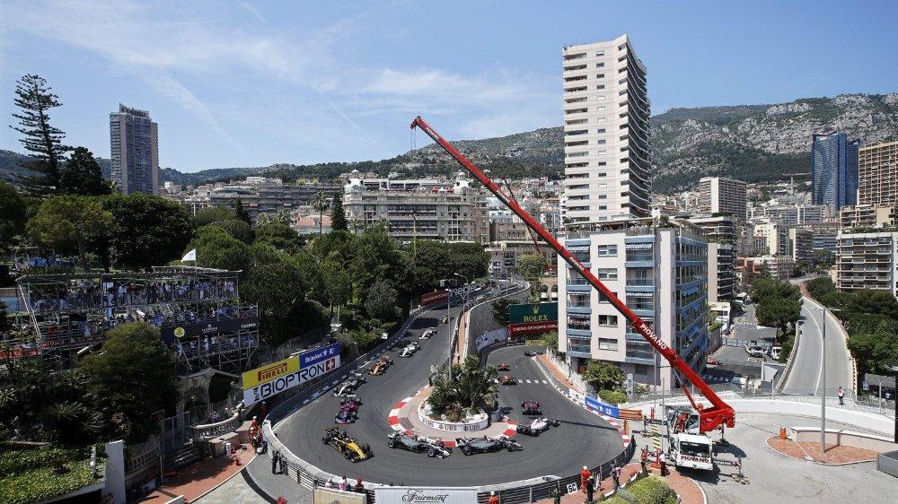 Pas de vrombissement en plein Monaco ce printemps.