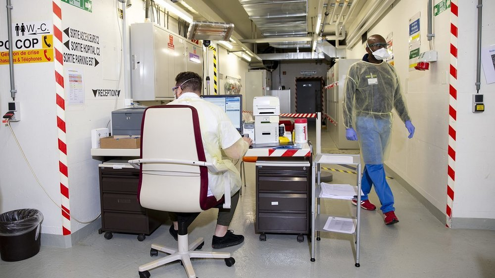 Un Centre opératoire protégé a été ouvert pour permettre le dépistage du coronavirus en toute sécurité.