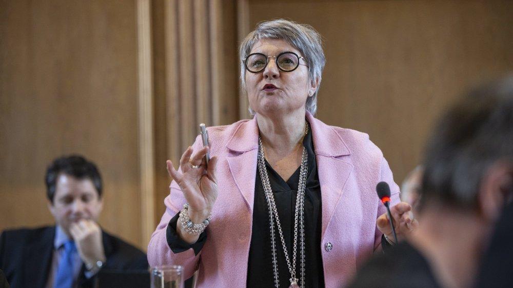 Malgré le vibrant plaidoyer de la conseillère d'Etat Monika Maire-Hefti, le Grand Conseil a refusé de supprimer la Haute école de musique.