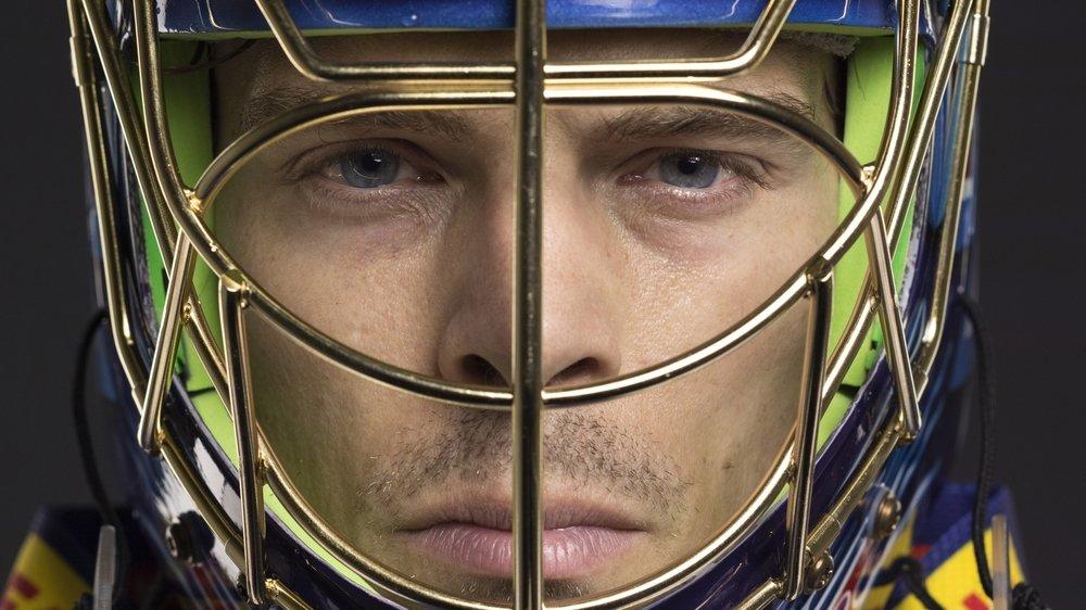 La star des buts de hockey suisses et américains n'a pas pu faire ses adieux avec le HC Bienne, à cause du coronavirus.