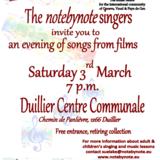 Concert 'notebynote singers'