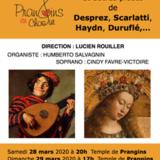 Concert de printemps donné par Prangins-en-Choeur
