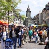 Grand marché de printemps et fête des Clowns