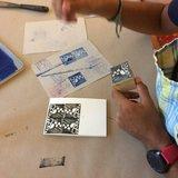 Atelier - Gravure d'un tampon