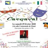 Fêtes de Carnaval  de l'Association  ARES