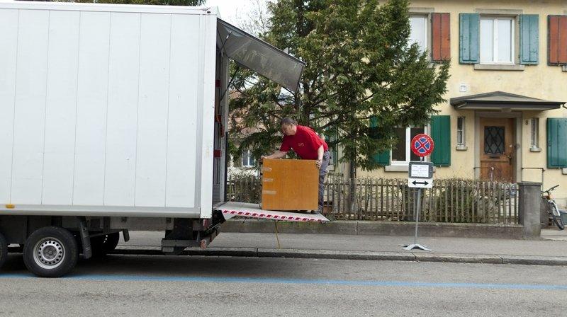 Lors des déménagements, il est difficile d'appliquer les recommandations en matière de protection et de distance sociale, juge un patron d'entreprise.