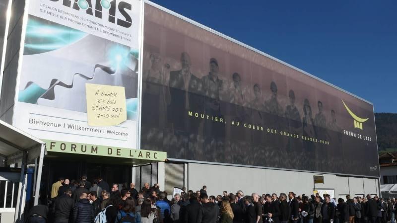 L'ouverture du SIAMS, à Moutier, en avril 2016.