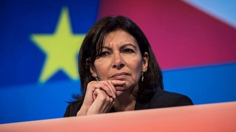 La socialiste Anne Hidalgo, maire de Paris, se représente aux municipales de mars.