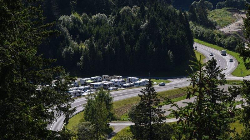 Gens du voyage à La Vue-des-Alpes au moins jusqu'en 2023