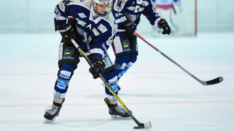 Camille Huwiler a inscrit un but pour la NHA à Lugano.