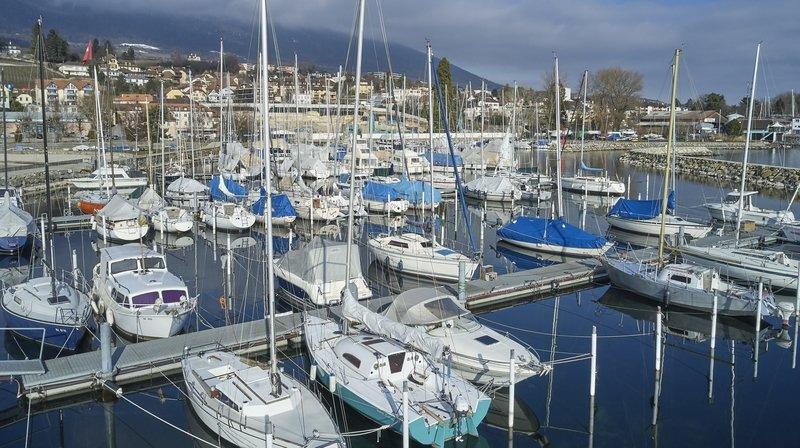 Coronavirus: restrictions dans les ports du lac de Neuchâtel