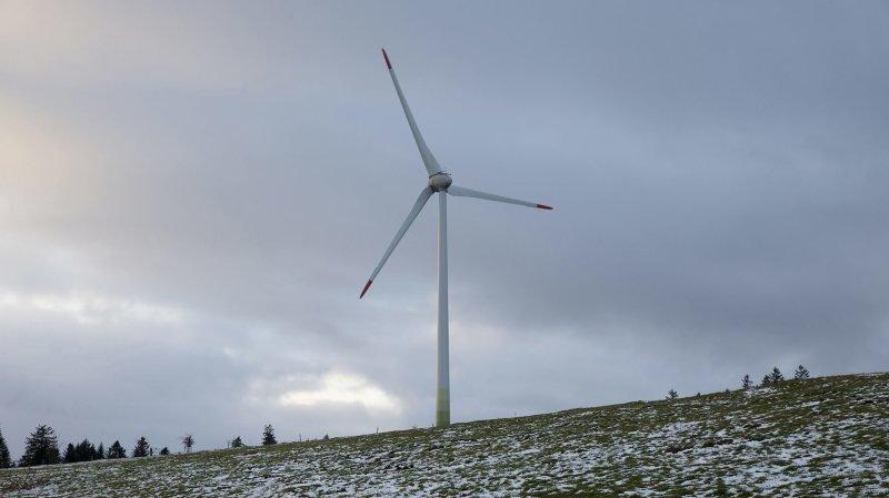 Pas d'éoliennes avant 2 ou 3 ans au Val-de-Travers