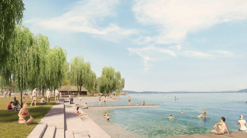 Neuchâtel: le projet des Jeunes-Rives semble séduire jusqu'au TCS