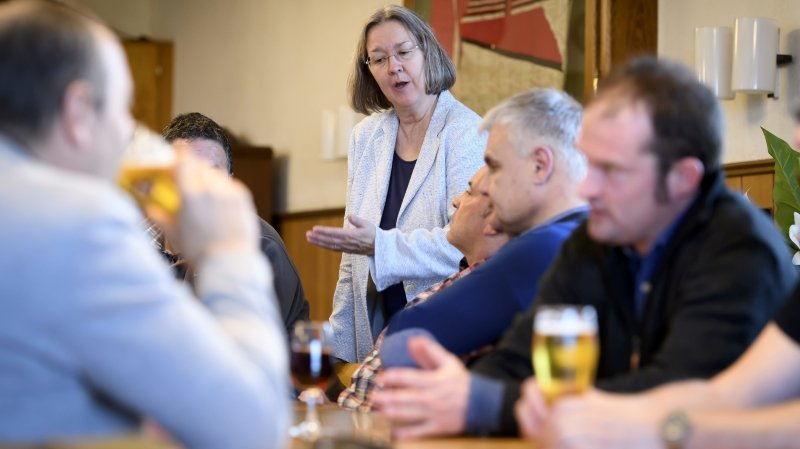 Avec l'élection de la socialiste Rosalie Beuret Siess, le Gouvernement jurassien vire au centre gauche
