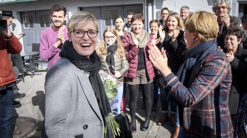 Rosalie Beuret Siess (PS) a été élue au Gouvernement jurassien le 1er mars dernier.