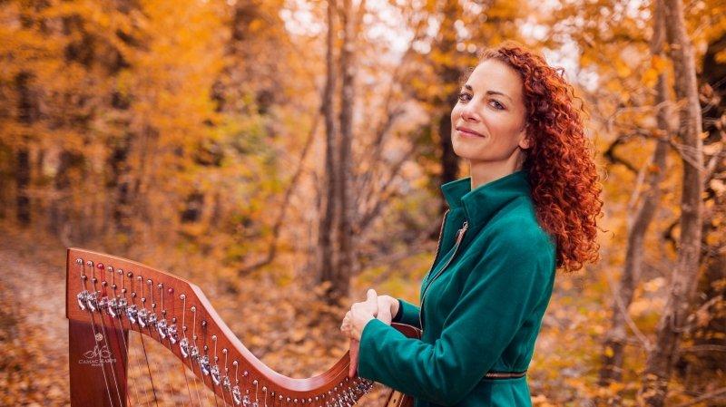 Harpe celtique et voix