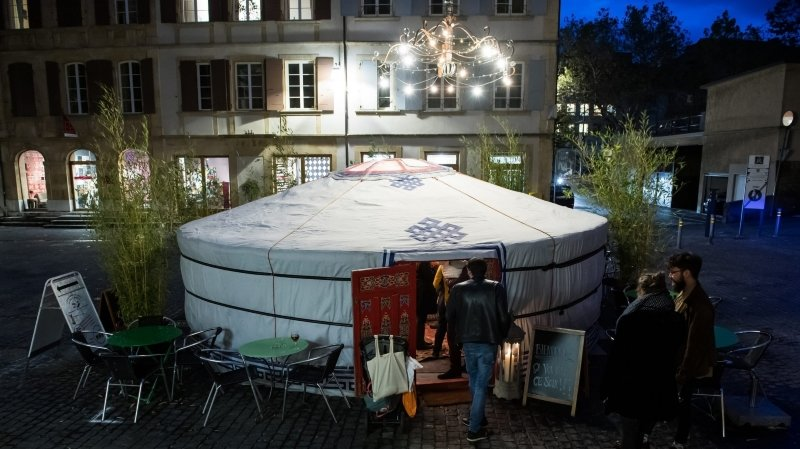 Découvrir le révolutionnaire Aimé Humbert sous la yourte de Neuchâtel