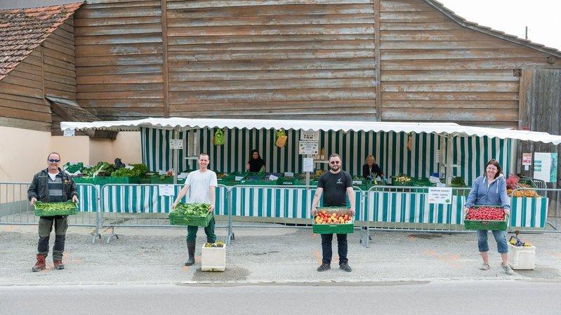 Privés de marché, les maraîchers présents dans le canton de Neuchâtel se lancent dans la vente directe