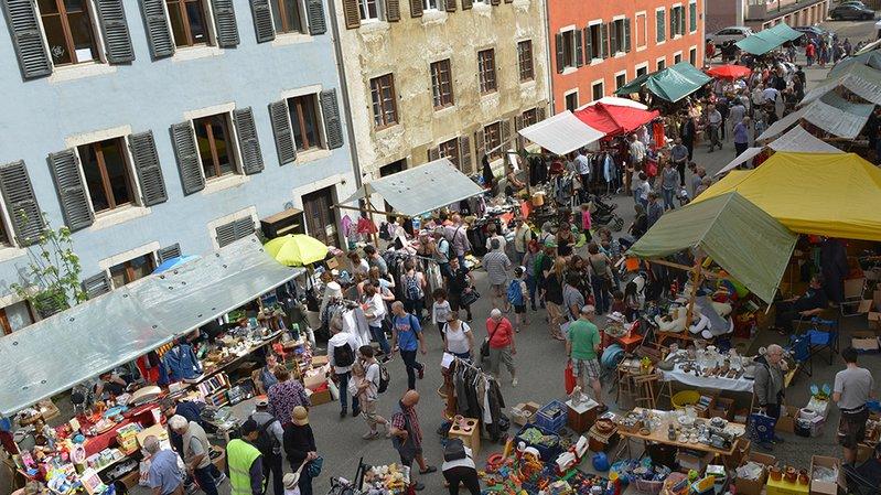 Fête de mai à La Chaux-de-Fonds: deux tiers des emplacements réservés