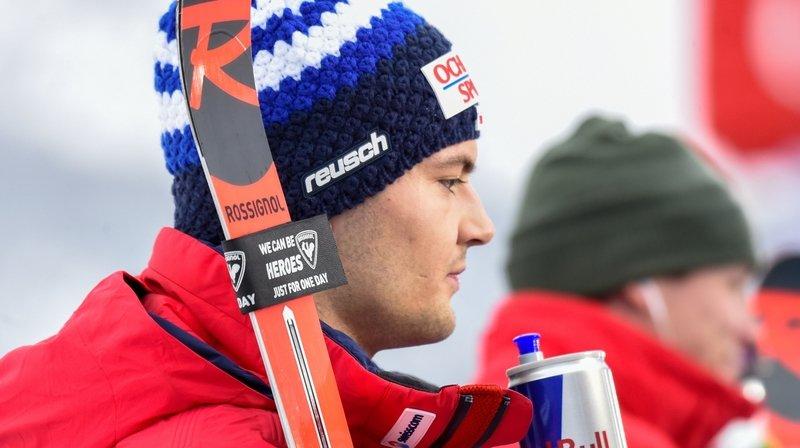 Ski alpin: Loïc Meillard se blesse au Japon