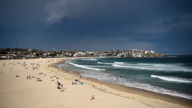 L'Australie pourrait être le pays le plus durement touché, avec près de 15'000 km de plages de sable rayés de la carte d'ici à 80 ans. (illustration)