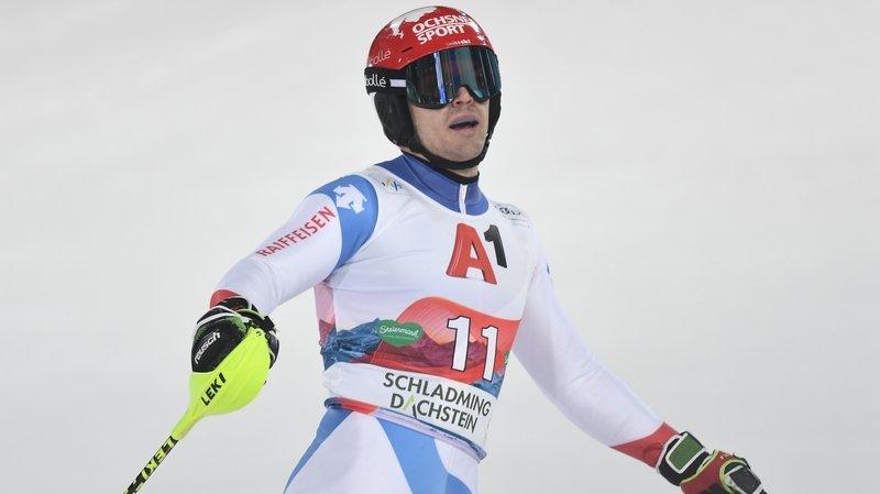 Le skieur d'Hérémence Loïc Meillard forfait pour le géant et le slalom au Japon