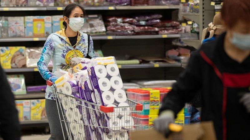 Coronavirus: vol à main armée de papier toilette à Hong Kong