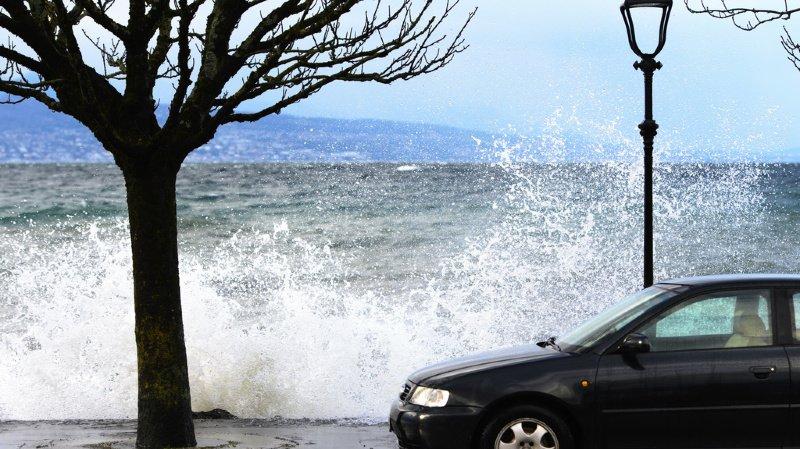 Météo: des rafales de vents ont frappé la Suisse, jusqu'à 127 km/h au-dessus de Genève