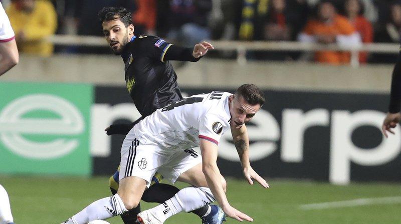 Football - Europa League: le FC Bâle s'impose face à l'APOEL en match aller des 16es de finale
