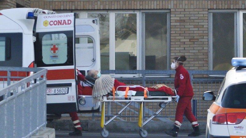 Coronavirus: premier décès d'un Européen en Italie