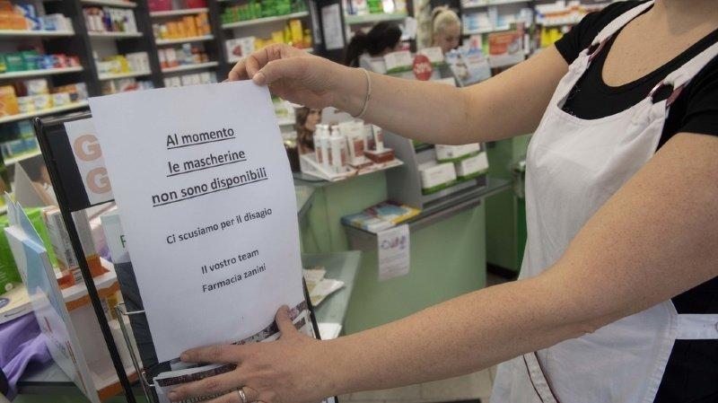 Coronavirus: un premier cas de contamination au Tessin, les frontières italiennes restent ouvertes