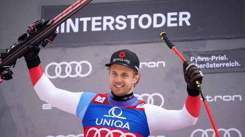 Ski alpin: Mauro Caviezel en tête après le Super-G à Hinterstoder