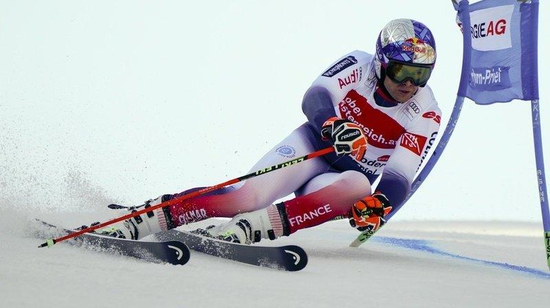 Ski alpin – Géant à Hinterstoder: les Suisses distancés en première manche, Pinturault loin devant
